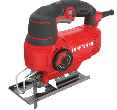 CRAFTSMAN Jig Saw, 5.0-Amp best jigsaw for wood working
