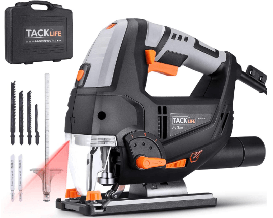 TACKLIFE 6.7 Amp best woodworking Jigsaw